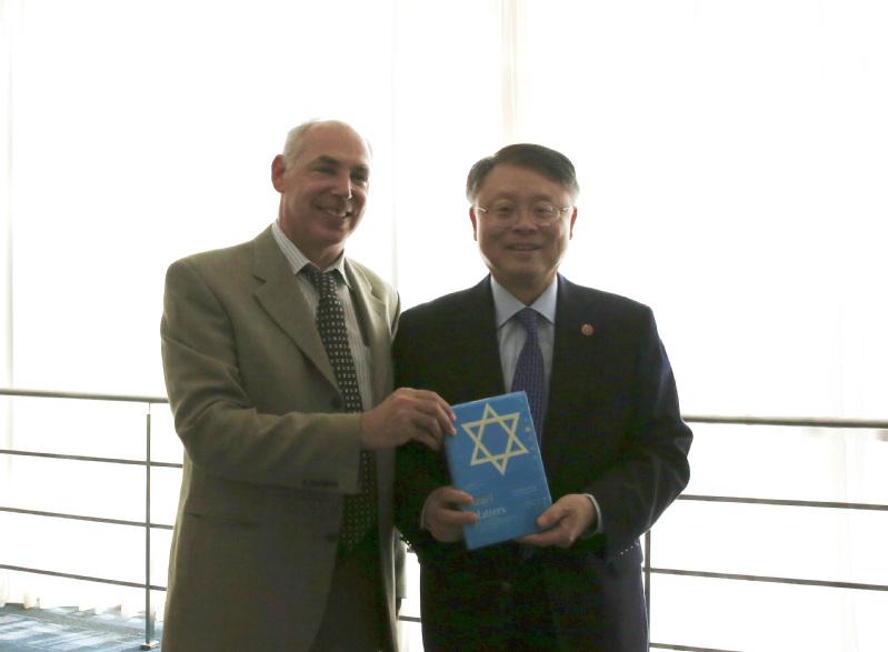 Israeli Consul General Visits ShanghaiTech