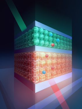 Solution-Processed Quantum Dots Make Infrared Light Visible