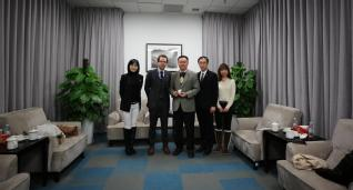 Consul General of Luxembourg in Shanghai visited ShanghaiTech University