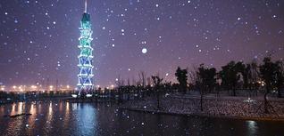 初雪——上科大的昼与夜(2018年1月)