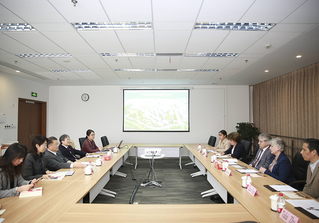 Russian Academy of Sciences President Visits ShanghaiTech